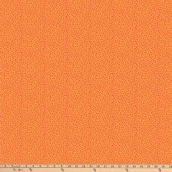 Northcott Alphabet Soup Abstract Dots Orange Fabric