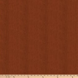 Autumn Village Stripe Rust Fabric