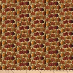 Autumn Village Folige Beige Fabric