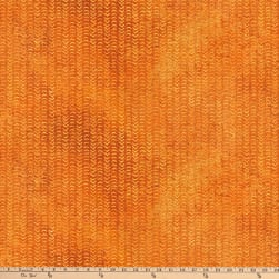 Stonehenge Sun Valley Tribal Orange Fabric