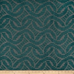 Artistry Patago Chenille Jacquard Teal Fabric