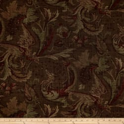Thibaut Livorna Floral Duck Brown Fabric