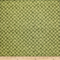 Trans-Pacific Textiles Lauhala Leaf Basket Weave Green Fabric