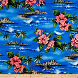 Trans-Pacific Textiles Lost in Paradise Royal Fabric