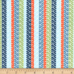 Michael Miller Minky Little Movers Treads Nite Fabric