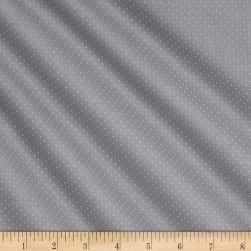 QT Fabrics Basics Quilting Illusions Dots Blender Grey