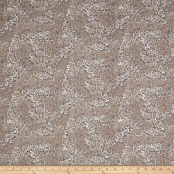 QT Fabrics Basics Ombre Scroll Blender Stone Fabric