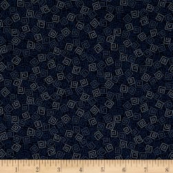 QT Fabrics Basics Harmony Cotton Squares Blender Navy
