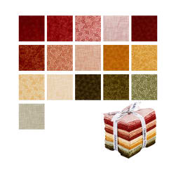 QT Fabrics Harmony 16 Pcs. Fat Quarter Bundle
