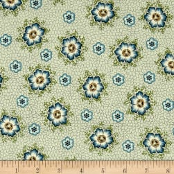 QT Fabrics Antiquities Stafford Spaced Dotted Floral Light