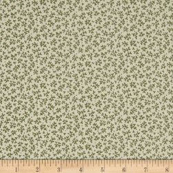 QT Fabrics Antiquities Stafford Mini Leaf Olive Fabric