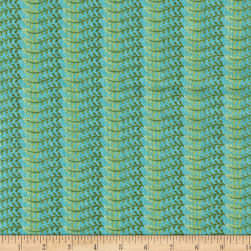 RJR MIrage Vines Angel Blue Fabric