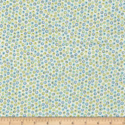 RJR Mirage Dots Whisper White Fabric