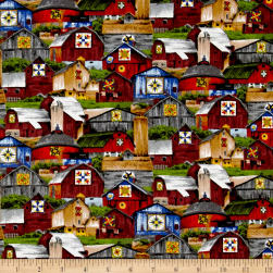 Riverwoods Quilt Trails Multi Fabric