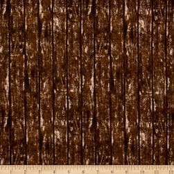 Riverwoods Quilt Barns & Bridges Brown Fabric
