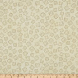 Riverwoods Quilt Trails Abstract Cream Fabric