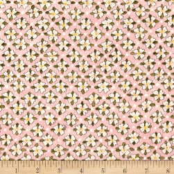 Riverwoods Glamping Gypsies Floral Pink Fabric