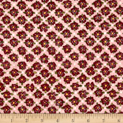 Riverwoods Glamping Gypsies Flowers Pink Fabric