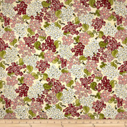 Riverwoods Glamping Gypsies Flowers and Bees White Fabric