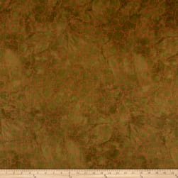 Riverwoods Great Wall Circles Brown Fabric