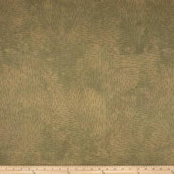 Riverwoods Whisper Abstract Green Fabric