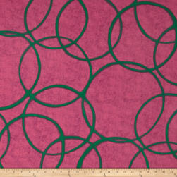 Riverwoods Color Matters Circles Pink Fabric