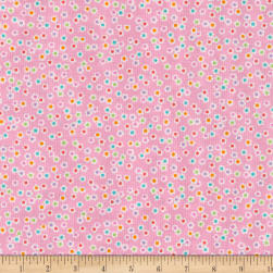 Benartex Funny Bunnies Floral Multi Fabric