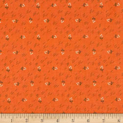 Riley Blake Autumn Love Berries Orange Fabric