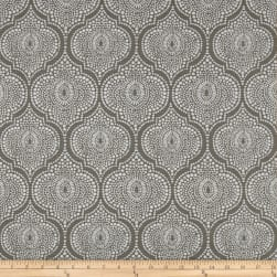 Scott Living Arabesque Basketweave Cyan Grey Fabric