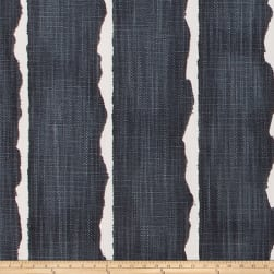 Scott Living Canal Luxe Linen Stripe CarbonBasketweave Fabric
