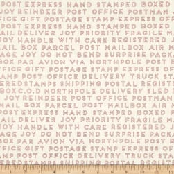 Christmas Delivery Text Cream