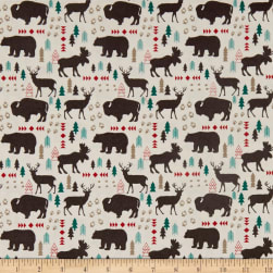 Riley Blake High Adventure 2 Main Cream Fabric