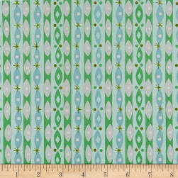 Riley Blake Way Up North Stripe Mint Fabric