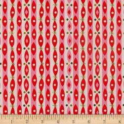 Riley Blake Way Up North Stripe Red Fabric