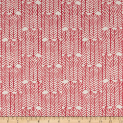 Art Gallery Fabrics Venture Forward Coral Fabric