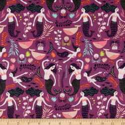 Art Gallery Sirena Siren Song Orchid Fabric