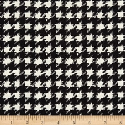 Art Gallery Decadence Houndstooth XIV Onyx Black &