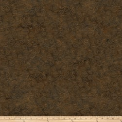 Pony Express Coins Brown Fabric