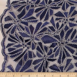 Telio Alexa Embroidery Two Tone Corded Embroidery Lace