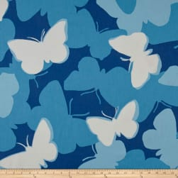 Madcap Cottage Now Voyager Island Blue Fabric
