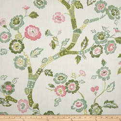 Madcap Cottage Blossom Dearie Duck Celery Fabric