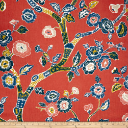 Madcap Cottage Blossom Dearie Duck Cherry Fabric