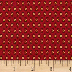 Paintbrush Studios Manzanita Grove Red Fabric