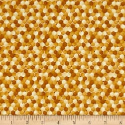 Paintbrush Studio Bee Kind Abstract Orange Fabric