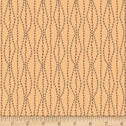 Henry Glass Flannel Bumble Garden Pebbles Peach Fabric