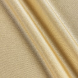 Activewear Spandex Knit Solid Champagne Fabric