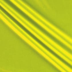 Activewear Spandex Knit Solid Neon Yellow Fabric