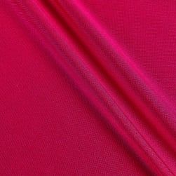 Activewear Spandex Knit Solid Fuschia Fabric