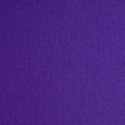 Activewear Spandex Knit Solid Purple Fabric