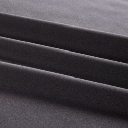 Activewear Spandex Knit Solid Gray Fabric